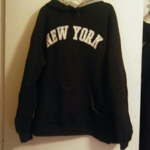 NEW YORK Sweat Jacket.  Size M